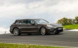 Porsche Panamera Turbo S Sport Turismo 2020 first drive review - sliding