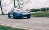 15 Porsche Taycan Cross Turismo 2021 LHD cornering front