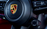 Porsche Taycan Turbo 2020 UK first drive review - drive mode select