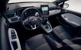 Renault Clio Hybrid - interior