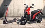 Seat e-scooter and e-kickscooter