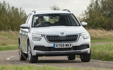 Skoda Kamiq 2019 UK first drive review - on the road front