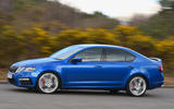 Skoda Octavia vRS diesel longterm review on the road side