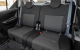 Suzuki Ignis hybrid 2020 UK first drive review - rear seats