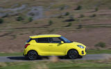 Suzuki Swift Sport 2018 long-term review on the road side