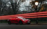 Tesla Model 3 Standard plus 2020 UK first drive review - static