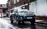 Toyota Hilux Invincible 50 2019 first drive review - on the road front