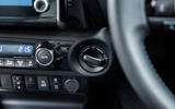 Toyota Hilux Invincible X 2020 UK first drive review - climate controls