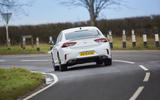 15 Vauxhall Insignia GSI 2021 UK first drive review cornering rear