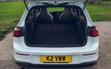 15 Volkswagen Golf GTD 2021 UK first drive review boot