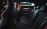 15 Volkswagen Golf GTI Clubsport 45 2021 UK FD rear seats