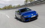 15 Volkswagen Golf R Estate 2021 first drive high speed banking