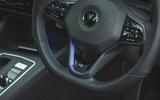 15 Volkswagen Golf R performance pack 2021 UK FD R badge