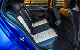 Volkswagen Golf R Performance Pack 2018 review rear seats