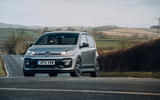 Volkswagen Up GTI 2020 UK first drive review - cornering front
