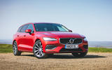 15 Volvo V60 B3 Momentum 2021 UK first drive review static