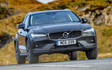 Volvo V60 Cross Country 2019 UK first drive review - on the road nose