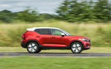 Volvo XC40 T3 2018 first drive review on the road side