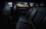 15 VW arteon R Shooting Brake 2021 UK FD rear seats