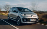 15 vw up gti 2021 uk first drive review cornering rear