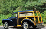 Defender hearse conversion - morris hearse