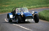 Caterham Seven - tracking front