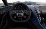Bugatti Chiron Pur Sport dash