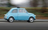 Fiat 500 - tracking side