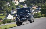 Mercedes-AMG G 63 cornering