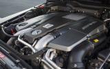 5.5-litre V8 Mercedes-AMG G 63 engine