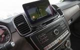 Mercedes-Benz GLS 350 d infotainment