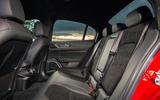 Alfa Romeo Giulia Quadrifoglio 2020 UK first drive review - rear seats