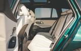 Alpina B3 Touring 2020 UK first drive review - rear seats