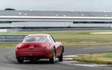 Aston Martin DB4 Zagato Continuation 2019 first drive review - cornering rear