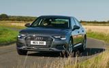 16 Audi A6 TFSIe 2021 UK first drive review cornering