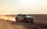 Audi e-Tron 2019 prototype first drive review - driving front