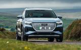 16 Audi Q4 etron 2021 UK FD on road front