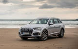 Audi Q7 2019 first drive review - static front