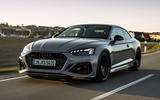 Audi RS5 Coupé 2020 first drive review - on the road front