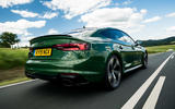 Audi RS5 Sportback 2019 first drive review - on the road rear
