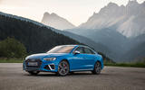 Audi S4 2019 first drive review - static front