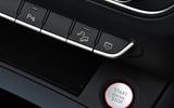 16 Audi SQ5 TDI 2021 UK FD start button