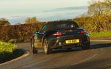 BBR GTI Mazda MX-5 Super 220 2020 UK first drive review - cornering rear