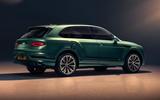 Bentley Bentayga facelift - static side