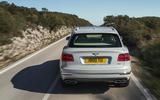 Bentley Bentayga hybrid 2019 first drive review - on the road rear