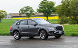 Bentley Bentayga Speed 2019 UK first drive review - cornering front