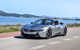 BMW i8 Roadster 2018 first drive review on the road front