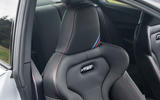 BMW M2 CS 2020 UK first drive review - seat details