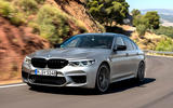 BMW M5 Competition 2018 first drive review on the road front