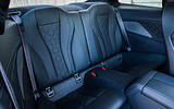 BMW M8 Competition Coupé 2019 first drive review - rear seats